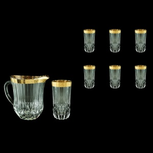 Adagio Set J+B0 AAGC b 1230ml+6x400ml 1+6pcs in Antique Golden Classic Decor (488/484/b)