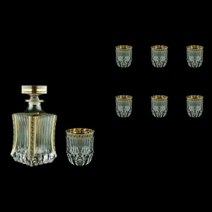 Adagio Set WD+B2 AAGB b 820ml+6x350ml 1+6pcs in Antique Golden Black (57-487/485/b)