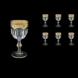 Provenza C3 PEGI Wine Glasses 170ml 6pcs in Flora´s Empire Golden Ivory Decor (25-522)