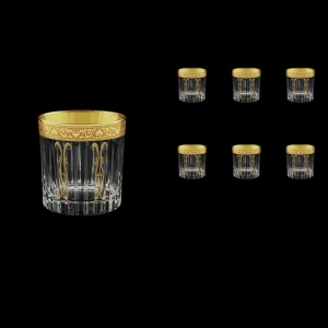 Timeless B2 TNGC H Whisky Glasses 360ml 6pcs in Romance Golden Classic Decor+H (33-291/H)