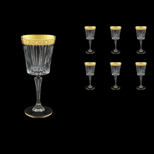 Timeless C2 TNGC Wine Glasses 298ml 6pcs in Romance Golden Classic Decor (33-289)