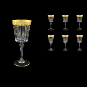 Timeless C2 TNGC H Wine Glasses 298ml 6pcs in Romance Golden Classic Decor+H (33-289/H)
