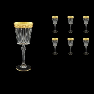 Timeless C3 TNGC Wine Glasses 227ml 6pcs in Romance Golden Classic Decor (33-288)