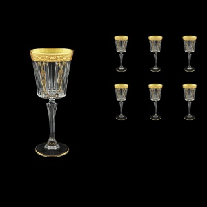 Timeless C3 TNGC H Wine Glasses 227ml 6pcs in Romance Golden Classic Decor+H (33-288/H)