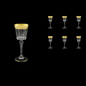 Timeless C5 TNGC Liqueur Glasses 110ml 6pcs in Romance Golden Classic Decor (33-287)
