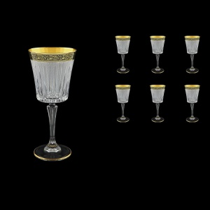 Timeless C2 TMGB S Wine Glasses 298ml 6pcs in Lilit Golden Black+S (31-130)