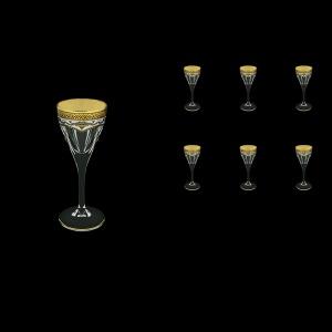 Fusion C5 FEGW Liqueur Glasses 70ml 6pcs in Flora´s Empire Golden White Decor (21-541)