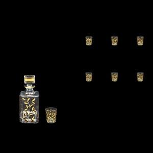 Laurus Set WD+B5 LLG Tumbler Set 500ml+6x60ml 1+6pcs in Gold (1340/1339)