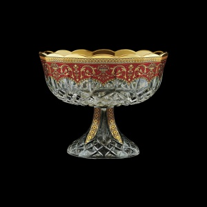 Opera MVO OEGR Large Bowl d23cm 1pc in Flora´s Empire Golden Red Decor (22-532)