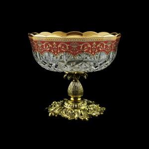Opera MVZ OEGR Large Bowl d23cm 1pc in Flora´s Empire Golden Red Decor (22-532/JJ02)