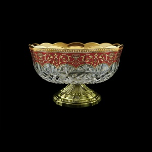 Opera MVZ OEGR Large Bowl d23cm 1pc in Flora´s Empire Golden Red Decor (22-532/O.17)