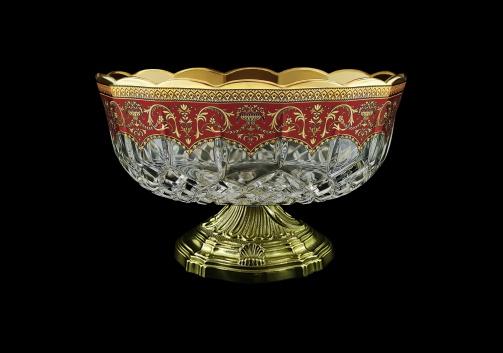 Opera MVZ OEGR Large Bowl d23cm 1pc in Flora´s Empire Golden Red Decor (22-532/O.17)