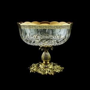 Opera MVZ OMGB Large Bowl d23cm 1pc in Lilit Golden Black Decor (31-410/JJ02)