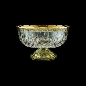 Opera MVZ OMGB Large Bowl d23cm 1pc in Lilit Golden Black Decor (31-410/O.17)