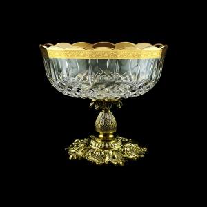 Opera MVZ ONGC Large Bowl d23cm 1pc in Romance Golden Classic Decor (33-410/JJ02)