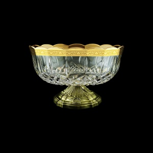 Opera MVZ ONGC Large Bowl d23cm 1pc in Romance Golden Classic Decor (33-410/O.17)