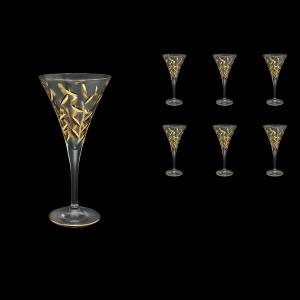 Laurus C3 LLG Wine Glasses 170ml 6pcs in Gold(1341)