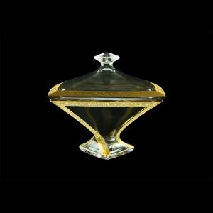 Bohemia Quadro DO QNGC B Dose d22,5cm 1pc in Romance Golden Classic Decor (33-458)