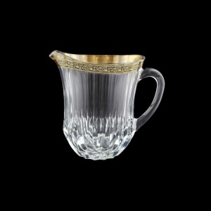 Adagio J AMGB Jug 1230ml 1pc in Lilit Golden Black Decor (31-488)
