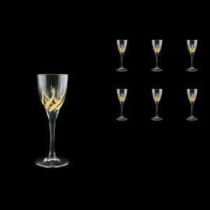 Trix C5 TTG Liqueur Glasses 70ml 6pcs in Gold (1260)
