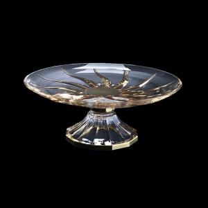 Trix CPA TTG Cake Plate d33cm 1pc in Gold (1276)