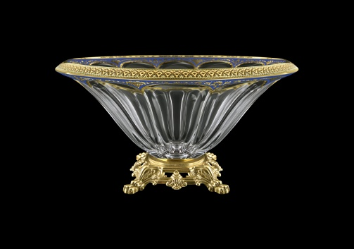 Panel MVZ PEGC CH Large Bowl 33cm 1pc in Flora´s Empire Golden Blue Decor (23-538/O.25)