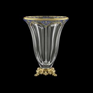Panel VVZ PEGC CH Vase 33cm 1pc in Flora´s Empire Golden Blue Decor (23-537/O.245)