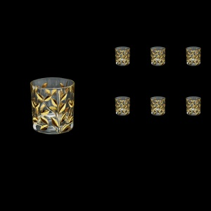 Laurus B3 LLG Whisky Glasses 260ml 6pcs in Gold (1350)