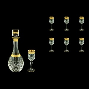 Opera Set RD+C5 ONGC Liqueur Set 1x500ml+6x60ml 1+6pcs in Romance Golden Cl. D. (33-224)