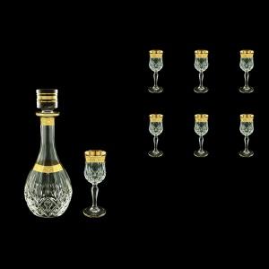 Opera Set RD+C5 ONGC Liqueur Set 1x500ml+6x60ml 1+6pcs in Romance Golden Cl. D. (33-224)