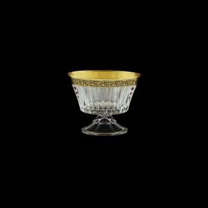 Timeless MMN TMGB SKLI Small Bowl d12,6cm 1pc in Lilit Gold. Black D+SKLI (31-115/bKLI)