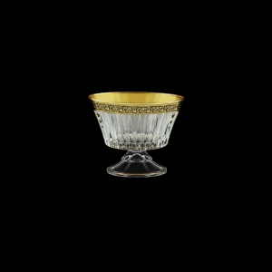 Timeless MMN TMGB SKTO Small Bowl d12,6cm 1pc in Lilit Gold. Black D+SKTO (31-115/bKTO)