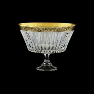 Timeless MVN TMGB SKTO Bowl d24,5cm 1pc in Lilit Golden Black Decor+SKTO (31-116/bKTO)