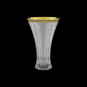 Timeless VV TMGB SKTO Vase 30cm 1pc in Lilit Gold. Black D.+SKTO (31-117/bKTO)