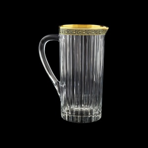 Timeless J TMGB Brocca Jug 1200ml 1pc in Lilit Golden Black Decor (31-284)