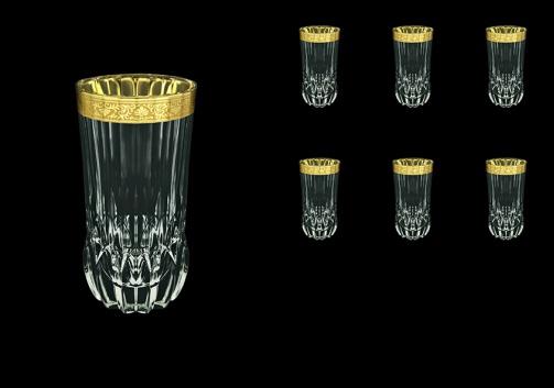 Adagio B0 ANGC Water Glasses 400ml 6pcs in Romance Golden Classic Decor (33-484)