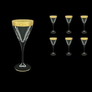 Fusion C2 FNGC Wine Glasses 250ml 6pcs in Romance Golden Classic Decor (33-432)