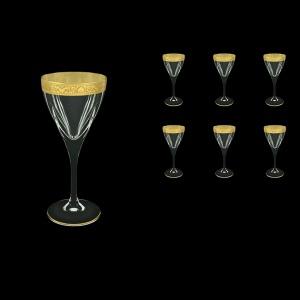 Fusion C3 Fngc Wine Glasses 210ml 6pcs in Romance Golden Classic Decor (33-431)
