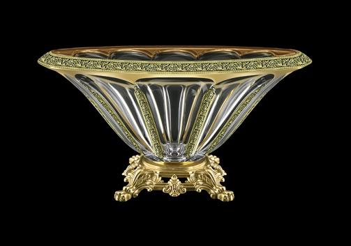 Panel MVZ PMGB B Large Bowl 33cm 1pc in Lilit Golden Black Decor (31-326/O.25)