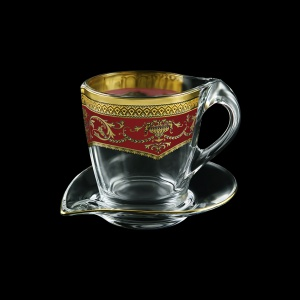 Mamanonmama CA MEGR Cappuccino 260ml 1pc in F. Empire Golden Red Decor (22-448)