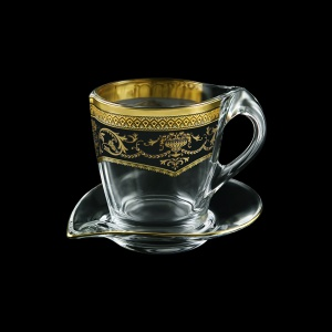 Mamanonmama CA MEGB Cappuccino 260ml 1pc in Flora´s Empire Golden Black Decor (26-448)