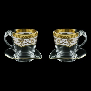 Mamanonmama CA MEGW Cappuccino 260ml 2pcs in F. Empire Golden White Decor (21-448/2)