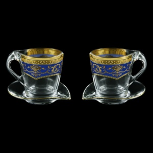 Mamanonmama CA MEGC Cappuccino 260ml 2pcs in F. Empire Golden Blue Decor (23-448/2)