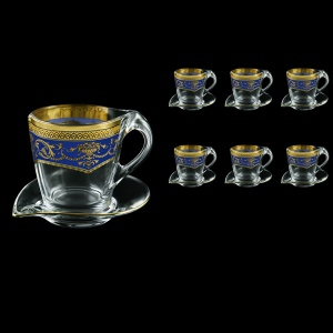 Mamanonmama CA MEGC Cappuccino 260ml 6pcs in F. Empire Golden Blue Decor (23-448/6)