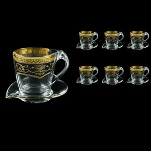 Mamanonmama CA MEGB Cappuccino 260ml 6pcs in Empire Golden Black Decor (26-448/6)