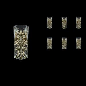Oasis B0 OOG KCR Water Glasses 360ml 6pcs in Full Star Gold+KCR (1311/KCR)
