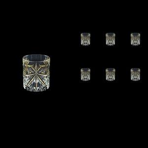 Oasis B2 OCG KCR Whisky Glasses 315ml 6pcs in Half Star Gold+KCR (1293/KCR)