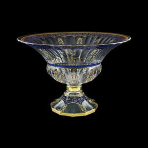 Adagio MVA AEGC H Bowl, 35x25cm, 1pc in Flora´s Empire Golden Blue Decor+H (23-536/H)