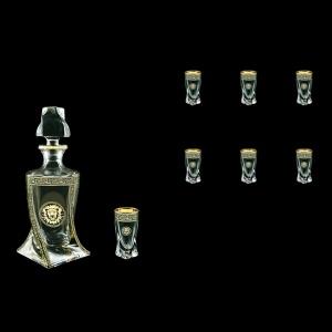 Bohemia Quadro Set WD+B5 QOGB b 500ml+6x50ml, in Lilit&leo Gold. Bl. D.(41-490)