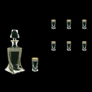 Bohemia Quadro Set WD+B5 QMGB b 1+6 pcs, 500ml+6x50ml, in Lilit Gold. Black D.(31-490)
